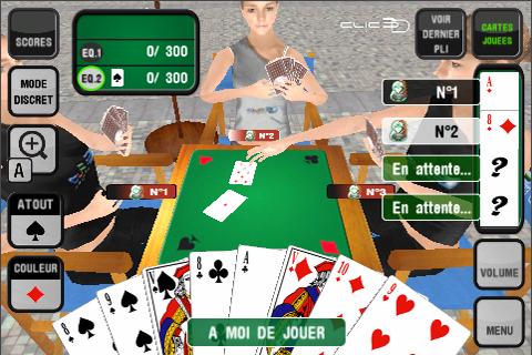 Screenshot French Belote (3D)