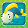 Fishing game for children age 2-5: Fish puzzles, games and riddles for kindergarten and pre-school.